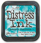 Peacock Feathers Distress Ink Pad - Tim Holtz