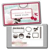 Cashmere Dame Stamps - Glitz
