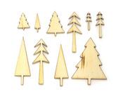 Tree Wood Veneer Shapes - Wonderland - Studio Calico