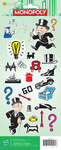 Monopoly Modern Stickers - American Crafts