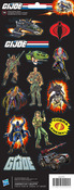 GI Joe 1980 Stickers - American Crafts