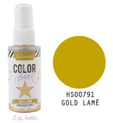 Gold Lame Iridescent Color Shine Spritz - Heidi Swapp