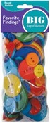 Rainbow Big Bag Of Buttons - Trendy Buttons