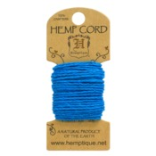 Turquoise Hemp 20 lb Crafters Cord - Hemptique