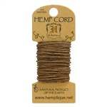 Light Brown Hemp 20 lb Crafters Cord - Hemptique