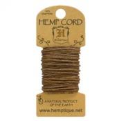 Light Brown Hemp 20 lb Crafters Cord - Hemptique