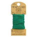 Green Hemp 20 lb Crafters Cord - Hemptique