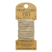 Natural Hemp 20 lb Crafters Cord - Hemptique