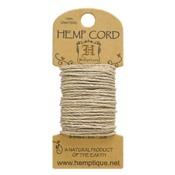 Natural Hemp 20 lb Crafters Cord - Hemptique