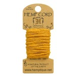 Gold Hemp 20 lb Crafters Cord - Hemptique
