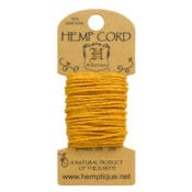Gold Hemp 20 lb Crafters Cord - Hemptique