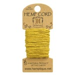 Yellow Hemp 20 lb Crafters Cord - Hemptique