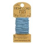 Light Blue Hemp 20 lb Crafters Cord - Hemptique