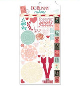 Love Letters Rub-ons - Bo Bunny