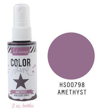 Amethyst Iridescent Color Shine Spritz- Heidi Swapp