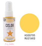 Mustard Iridescent Color Shine Spritz- Heidi Swapp