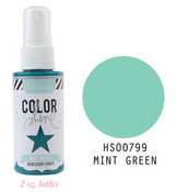 Mint Green Iridescent Color Shine Spritz- Heidi Swapp