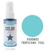 Tropicana Teal Iridescent Color Shine Spritz- Heidi Swapp