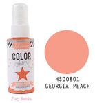 Georgia Peach Iridescent Color Shine Spritz- Heidi Swapp