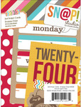 Snappy Days 3 x 4 Journal Cards - Simple Stories