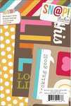 Snappy Saying 4 x 6 Journal Cards - Simple Stories