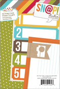 Snappy Thoughts 4 x 6 Journal Cards - Simple Stories