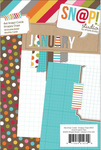 Snappy Days 4 x 6 Journal Cards - Simple Stories