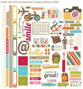 Snap Life Fundamentals Cardstock Stickers - Simple Stories