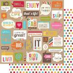 Snap Bubbles Paper - Simple Stories