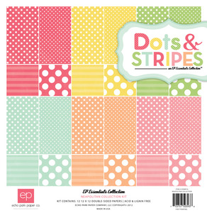 Dots & Stripes Neapolitan Collection Paper Kit - Echo Park