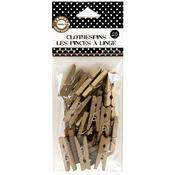 Gold Mini Clothes Pins - Canvas Corp