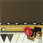 Thickstock Neutral 12x12 Cardstock - Canvas Corp