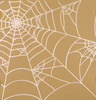 Silver Kraft Spiderweb Paper - Canvas Corp