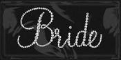 Bride Iron On Rhinestones