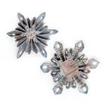Mini Snowflake Rosettes Sizzlits Decorative Strip Die - Tim Holtz