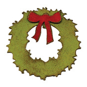Mini Wreath & Bow Movers & Shapers Magnetic Sizzix Die Set - Tim Holtz