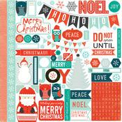 Dear Santa Element Stickers - Mini Theme - Echo Park