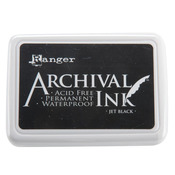 Jet Black Archival Ink Pad - Ranger