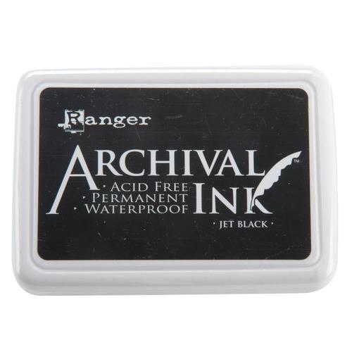Jet Black Archival Ink Pad - Ranger