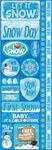 Snowflakes Cardstock Stickers - Reminisce