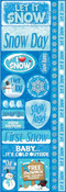 Snowflakes Cardstock Stickers - Reminisce