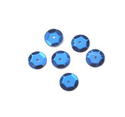 Royal Blue 10mm Round Cup Sequins - Darice