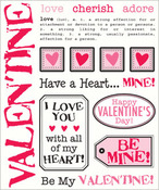 Valentine Say It With Stickers - SRM Stickers