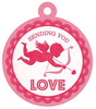 Sending Love Embossed Tag - Crazy For You - We R Memory Keepers