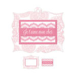 Je T'aime Embossed Frame - Crazy For You - We R Memory Keepers