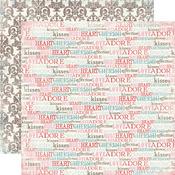 Words Of Love Paper - Devoted - Carta Bella