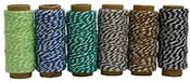 Garden Party Bakers Twine 6 Pack - Hemptique