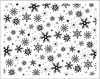 Snowflakes Rubber Stamp Set - Make It Merry - October Afternoon