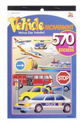Vehicle Movement Sticker Book - Darice