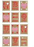 Love Stamp Stickers